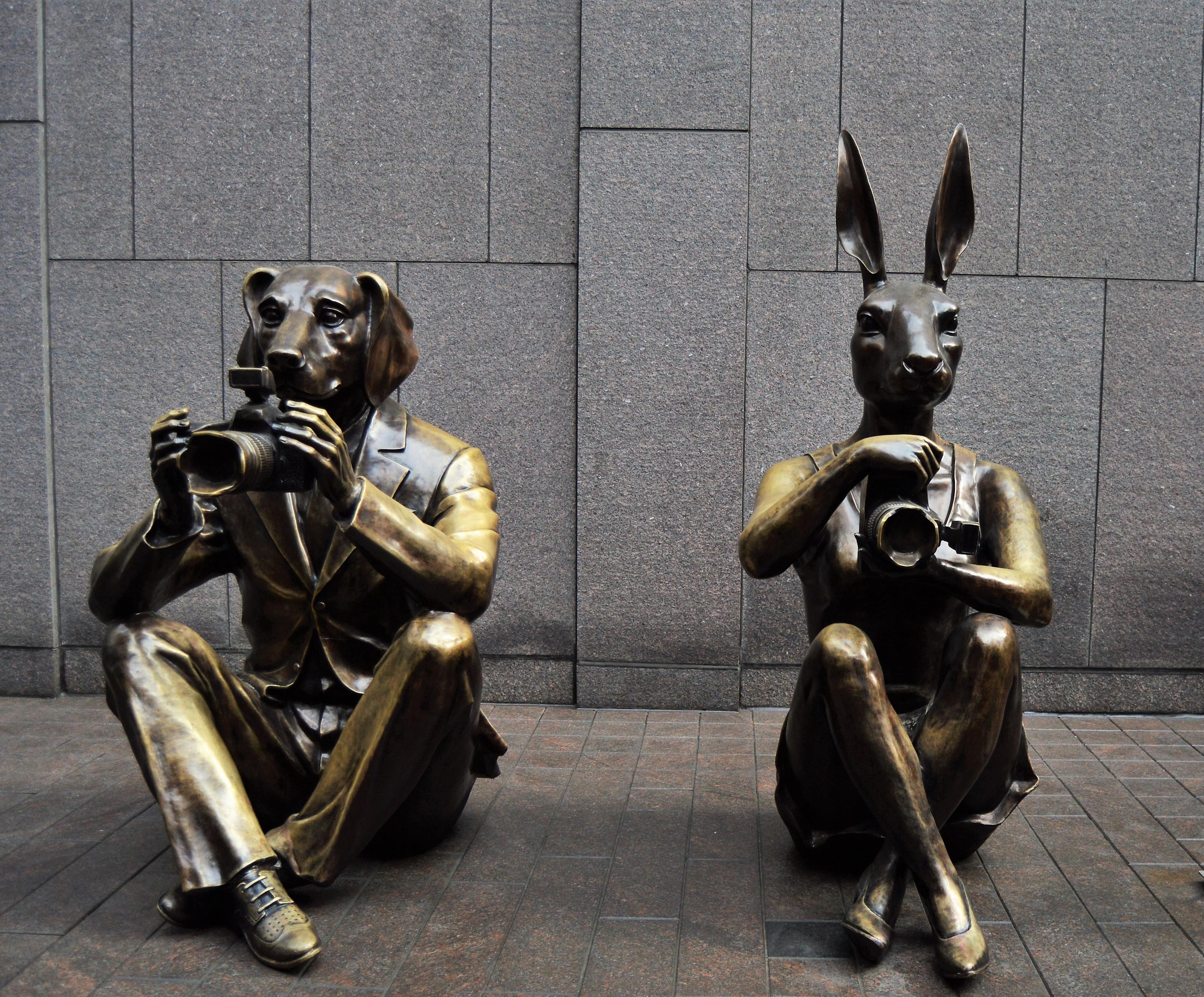 dogman and rabbitgirl