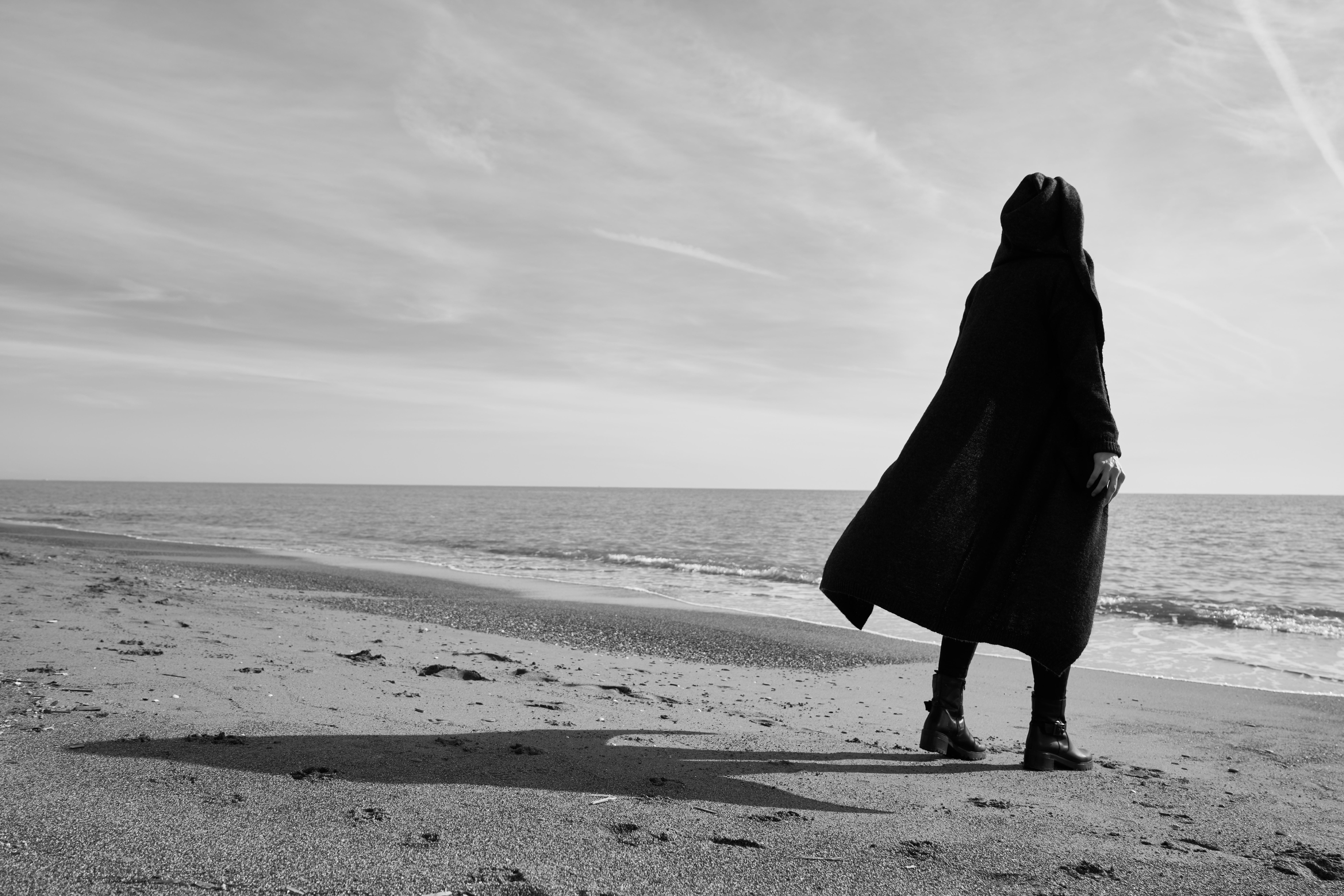 art-beach-black-and-white-2174623